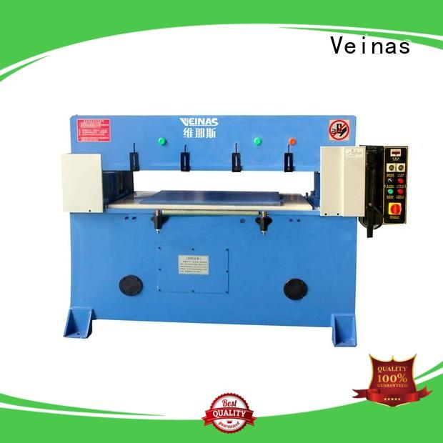 Veinas high efficiency hydraulic cutter price for sale for bag factory