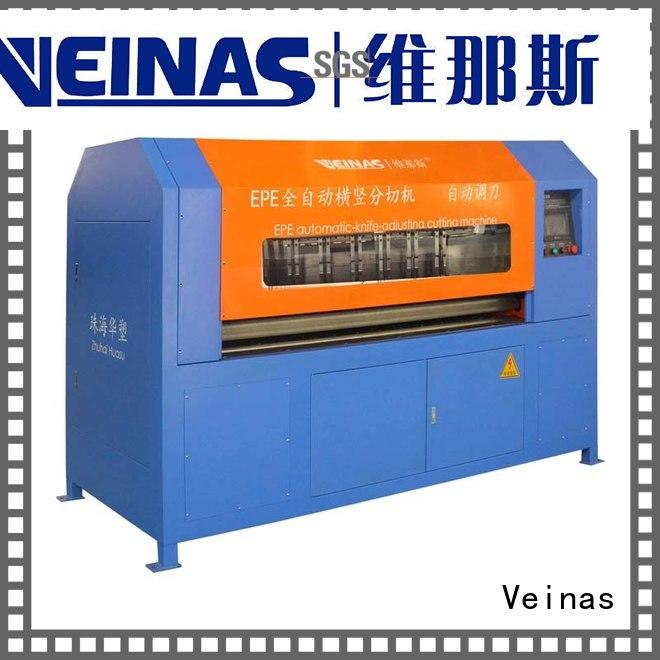 Veinas durable epe foam cutter and presser energy saving for factory
