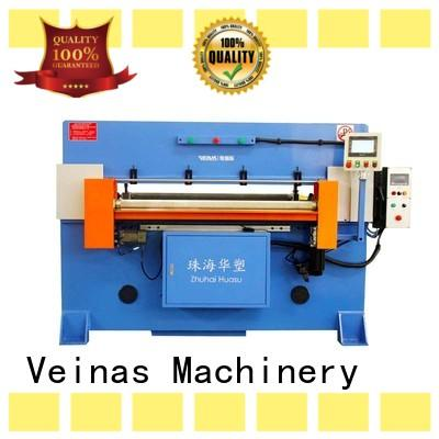 Veinas flexible hydraulic cutting machine simple operation for shoes factory