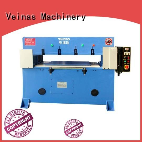 Veinas flexible hydraulic cutting machine promotion for bag factory
