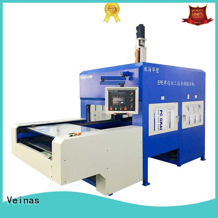Veinas hotair thermal lamination machine high efficiency for workshop