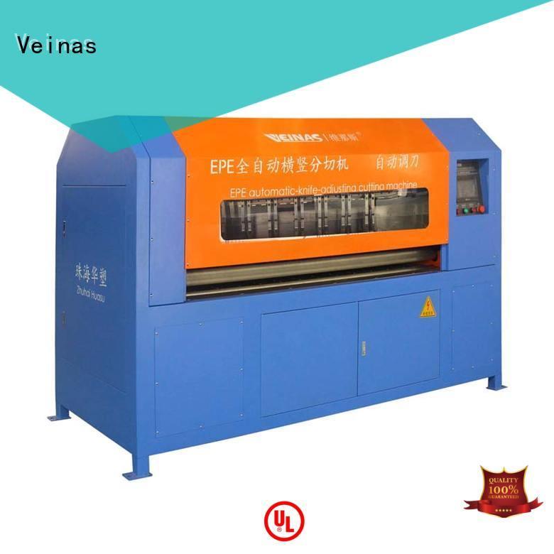 Veinas automaticknifeadjusting ep sheet parforming die cutting machine supplier for foam