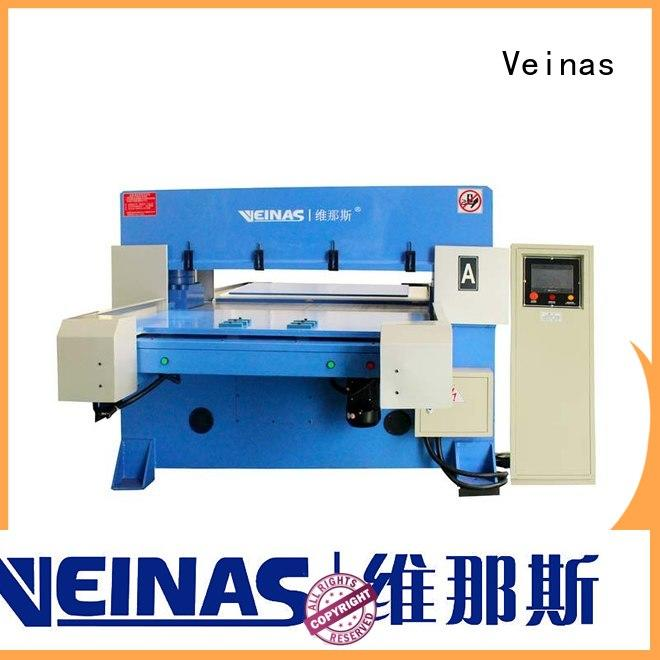 Veinas adjustable hydraulic die cutting machine energy saving for shoes factory