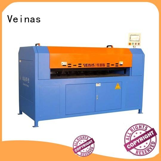 Veinas durable foam cutting machine manufacturers energy saving for wrapper