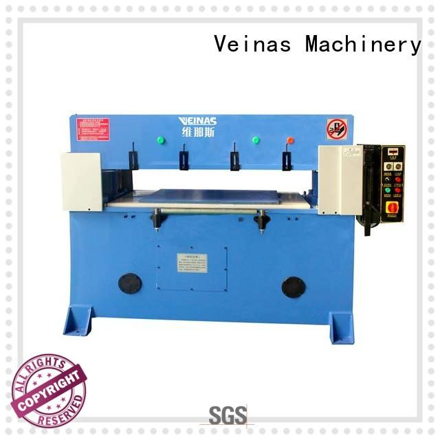 Veinas cutting hydraulic shearing machine energy saving for bag factory