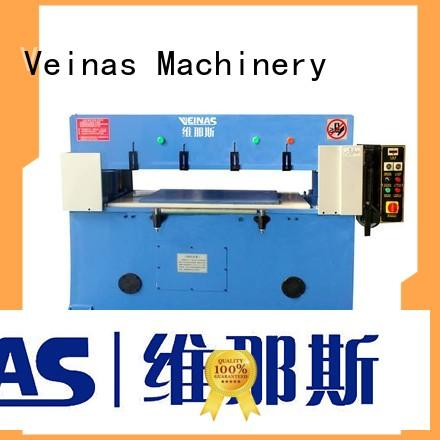 Veinas high efficiency hydraulic cutter energy saving for shoes factory