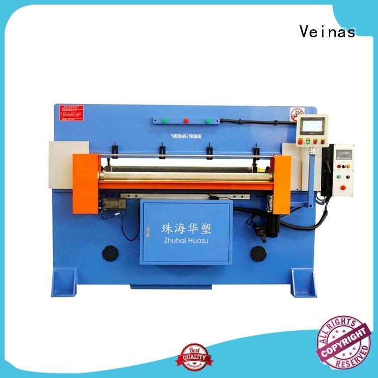Veinas high efficiency hydraulic shearing machine simple operation for factory