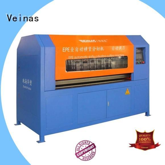 Veinas professional foam sheet cutting machine epe for workshop