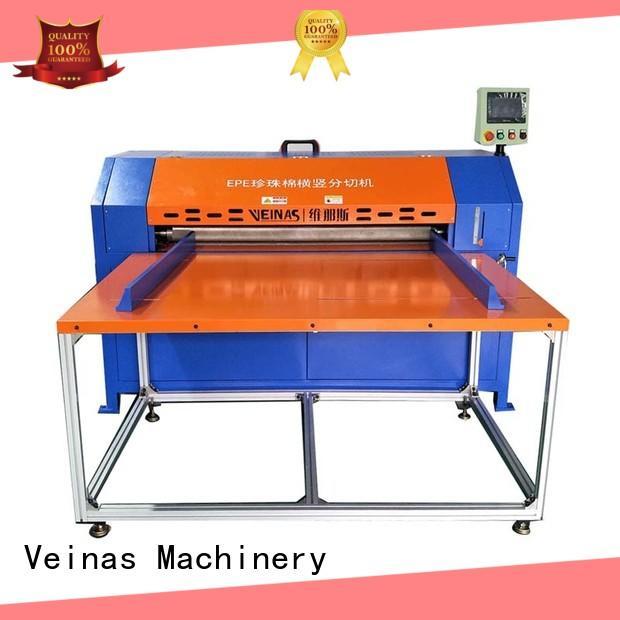 Veinas safe vertical foam cutting machine energy saving for factory
