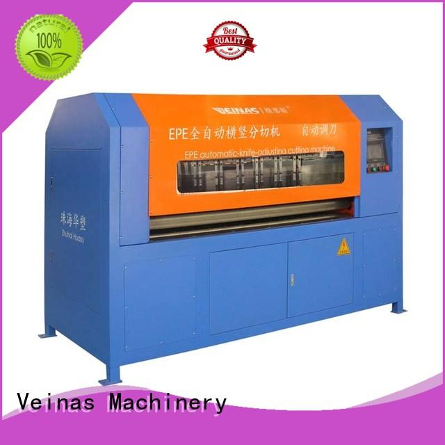 Veinas durable epe foam cutter and presser energy saving for wrapper