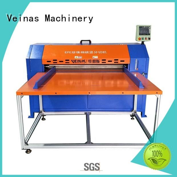 Veinas adjusted foam sheet cutting machine manual for wrapper