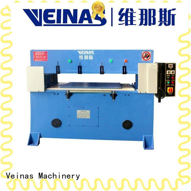 Veinas adjustable hydraulic cutting machine manufacturer for workshop