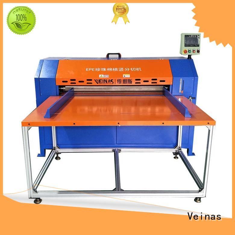 Veinas epe veinas epe foam cutting machine price supplier for foam