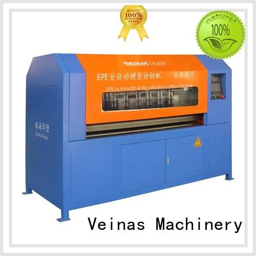 Veinas sheet vertical foam cutting machine supplier for foam