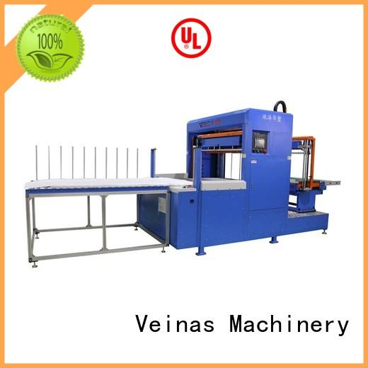 Veinas adjusted vertical foam cutting machine hispeed for workshop