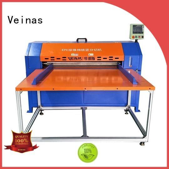 Veinas manual epe cutting machine energy saving for workshop