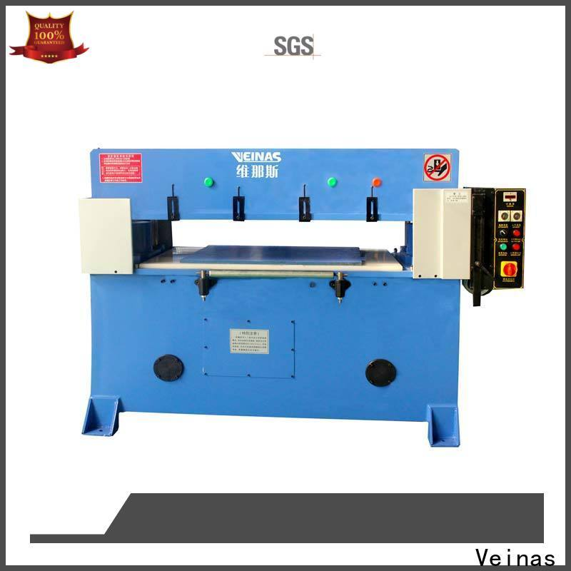 Veinas high efficiency hydraulic angle cutting machine simple operation for packing plant