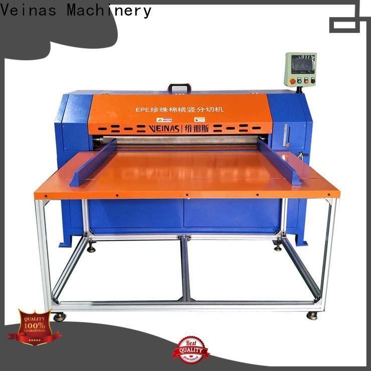 Veinas sheet slitting machine supplier for factory