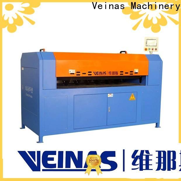 Veinas slitting foam cutting machine price supplier for cutting
