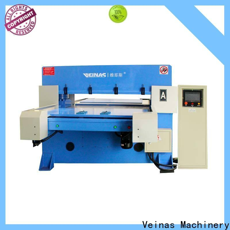 flexible hydraulic shear autobalance simple operation for bag factory