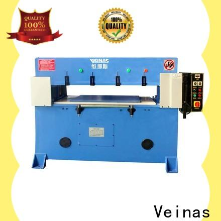 Veinas automatic hydraulic sheet cutting machine promotion for bag factory