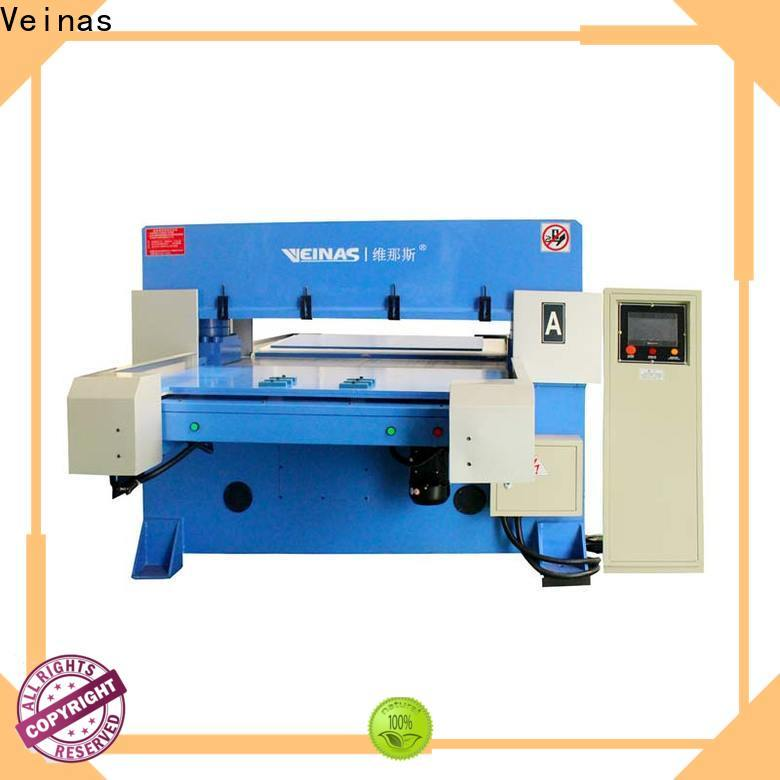 Veinas fully hydraulic angle cutting machine promotion for shoes factory