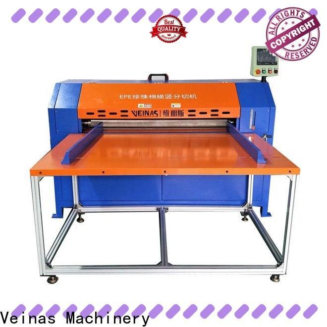 Veinas flexible veinas epe cutting foam machine supplier for cutting