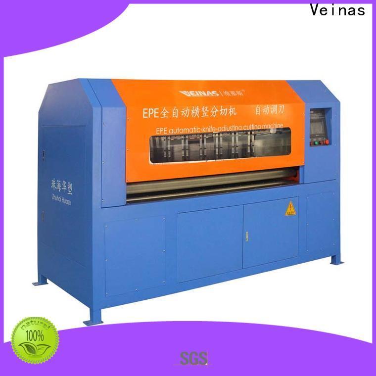 Veinas adjusted veinas epe foam cutting machine price easy use for workshop