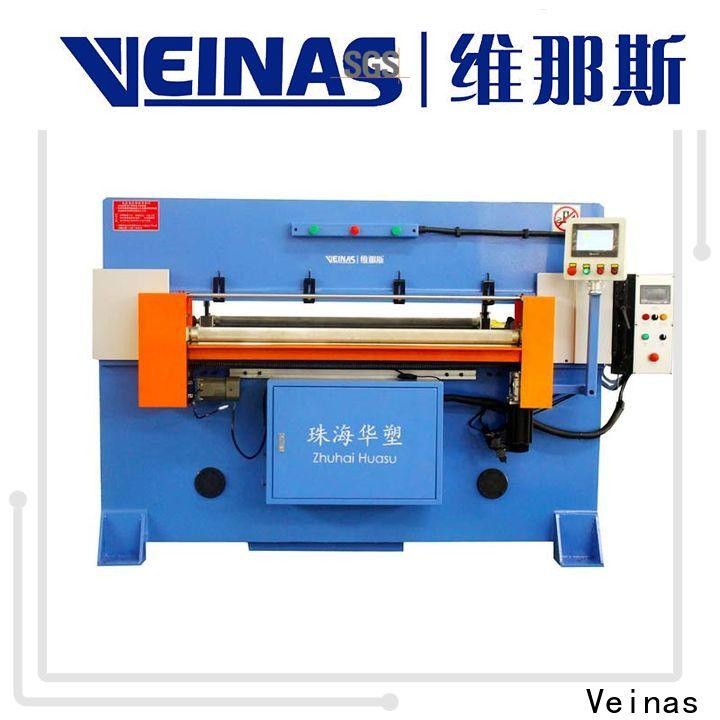 Veinas doubleside hydraulic cutting machine energy saving for shoes factory