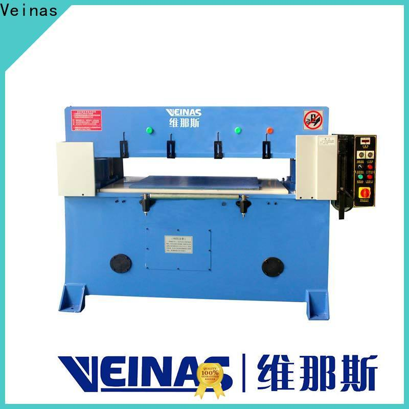 Veinas high efficiency hydraulic cutter for sale for bag factory
