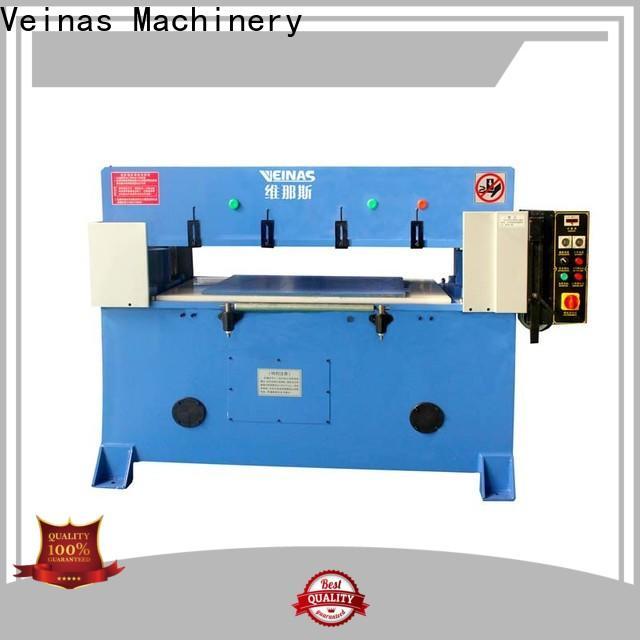 Veinas high efficiency hydraulic die cutting machine manufacturer for bag factory