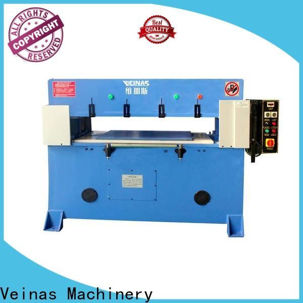 Veinas adjustable hydraulic angle cutting machine energy saving for packing plant