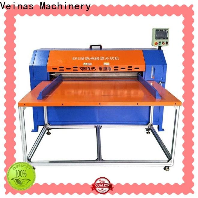 Veinas adjusted epe foam cutting machine proce in india energy saving for cutting