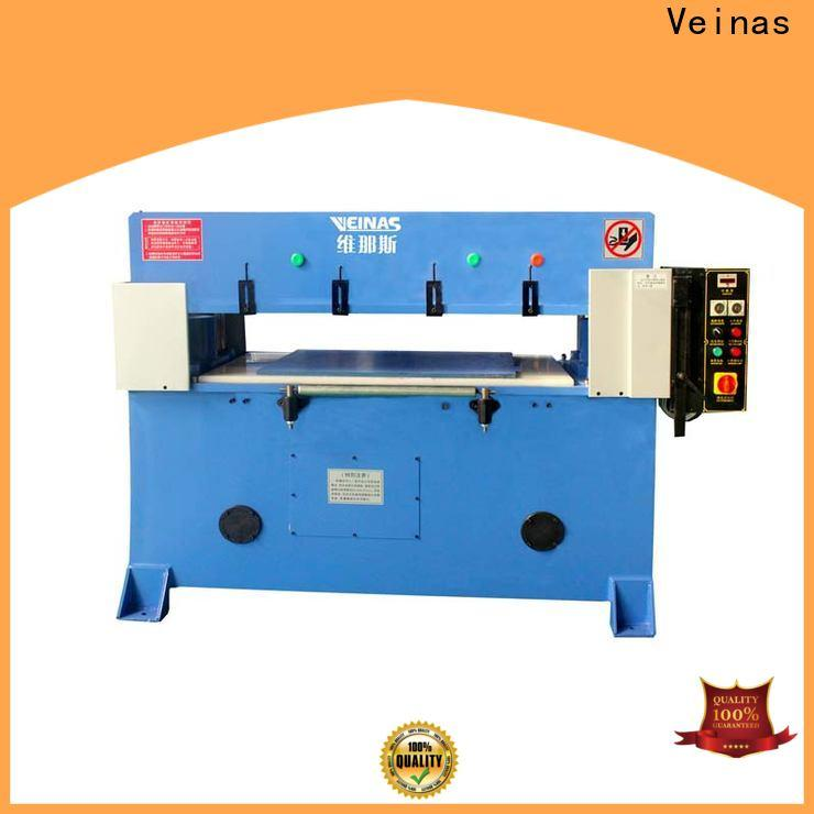 Veinas durable hydraulic shear cutter simple operation for shoes factory
