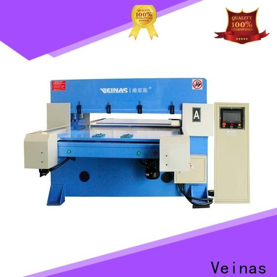 Veinas automatic hydraulic shear manufacturer for bag factory
