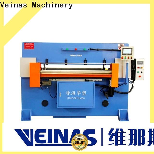 Veinas high efficiency hydraulic sheet cutting machine energy saving for shoes factory