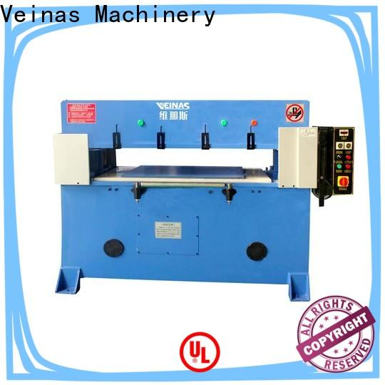 Veinas fourcolumn hydraulic cutter price promotion for factory