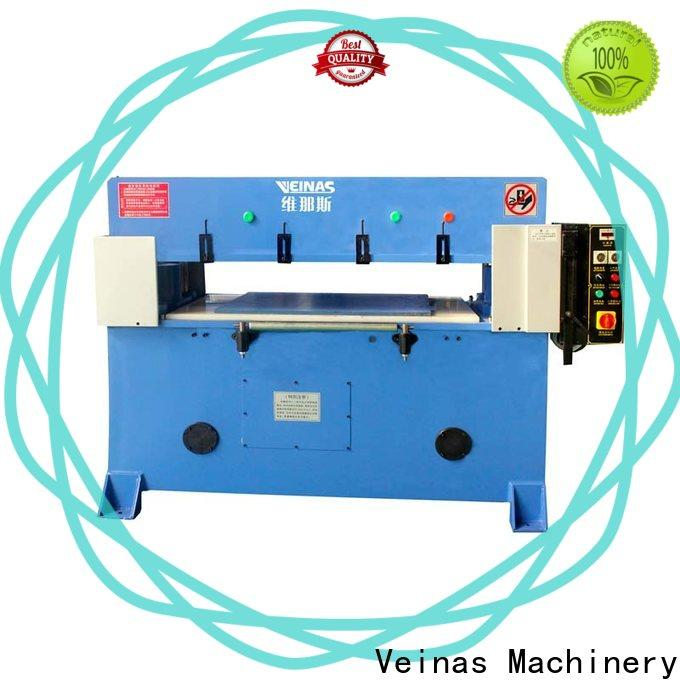 Veinas doubleside hydraulic shear manufacturer for bag factory