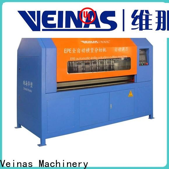 Veinas safe epe foam sheet cutting machine for sale for factory