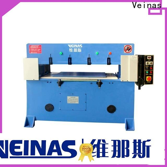 Veinas doubleside hydraulic angle cutting machine simple operation for factory