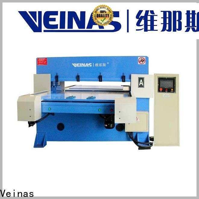 Veinas feeding hydraulic cutter promotion for shoes factory