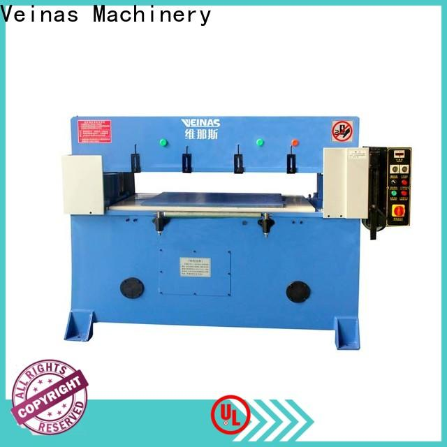 Veinas top hydraulic cutter price for bag factory