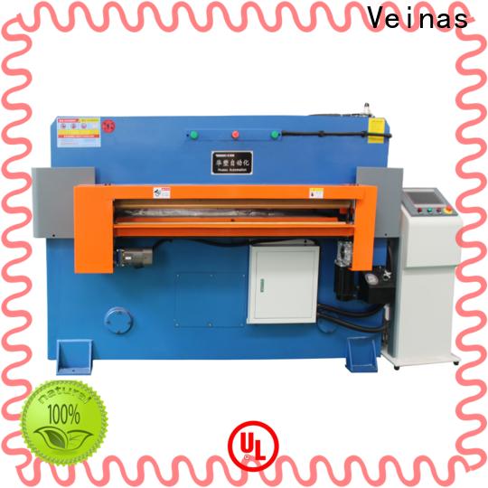 Veinas doubleside hydraulic sheet cutting machine factory for workshop